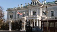 La embajada de Reino Unido en Moscú 8Rusia).