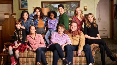 Reparto de 'Roseanne', la serie de ABC.