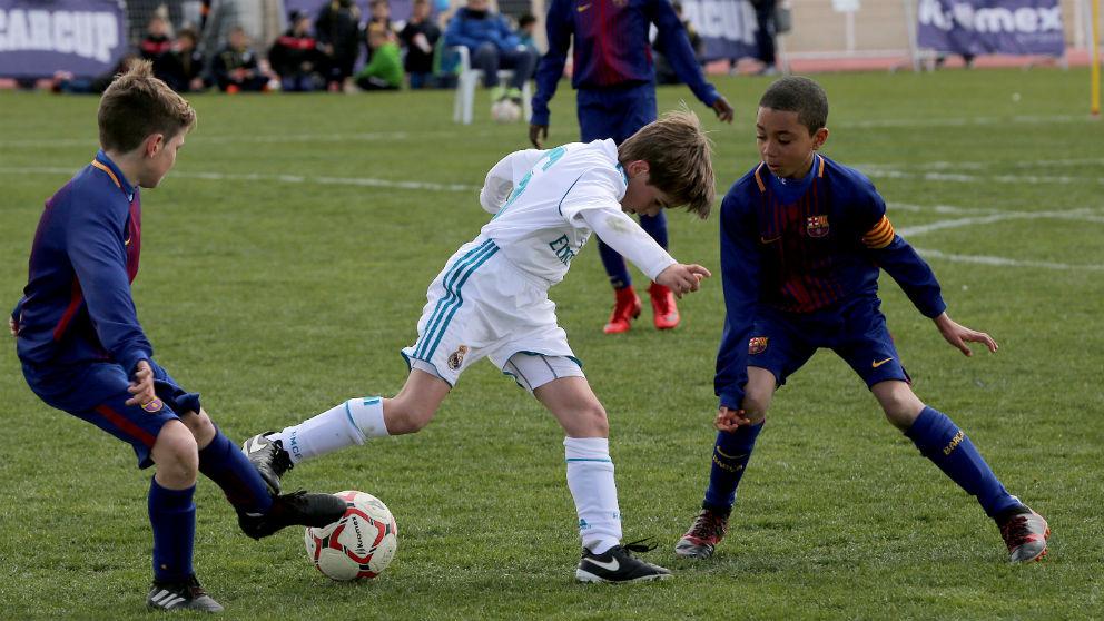 El Barcelona se impuso al Real Madrid en la final.