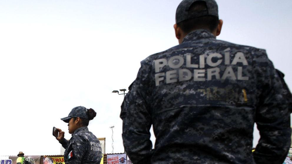 Agentes de policía mexicanos (Foto: AFP).