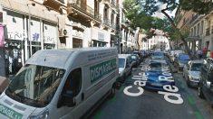 Calle Conde de Romanones en Madrid.