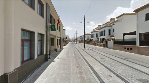 Cuartel de la Guardia Civil en Armilla (Granada), donde se lleva la 'operación Darkto'.