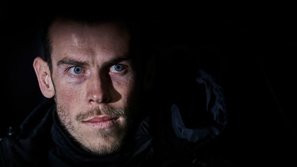 Gareth Bale con cara de pocos amigos en el banquillo. (Getty Images)