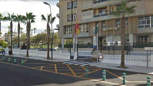 Puesto de la Guardia Civil en Playa de las Américas, Tenerife.
