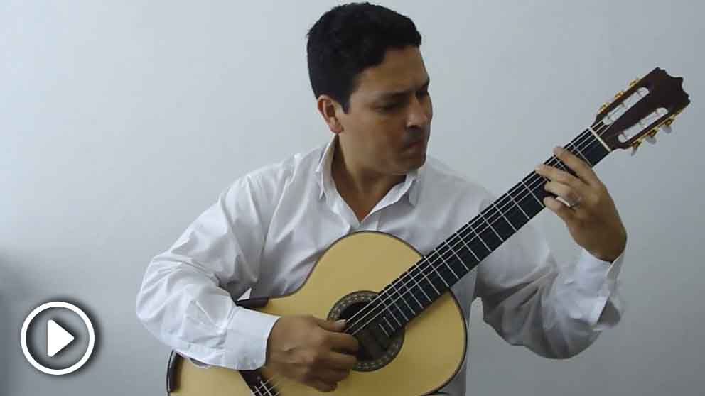 El guitarrista venezolano José Luis Lara.
