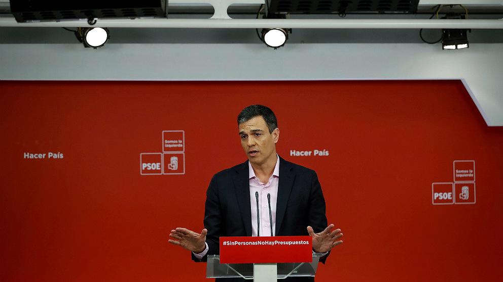 Pedro Sánchez, secretario general del PSOE. (EFE)