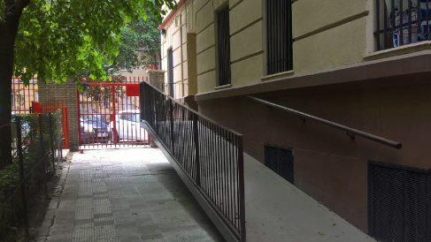 Rampa que el Ayuntamiento queire demoler. (Foto. OKDIARIO)