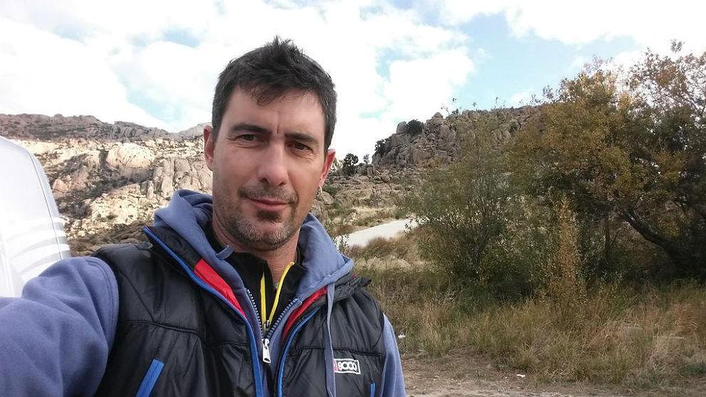 El montañero talaverano Román Bascuñana, fallecido en un alud en los Alpes suizos.
