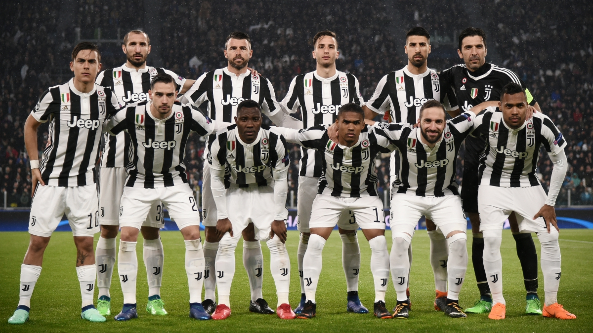 El once de la Juventus ante al Real Madrid. (AFP)