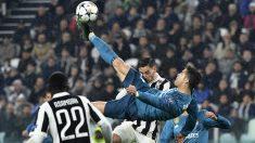 La chilena de Cristiano Ronaldo para hacer el 0-2.