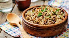 Receta de arroz árabe original fácil de preparar