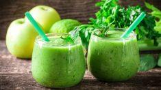 Receta de batido de manzana y kiwi sano, rico y fácil de preparar