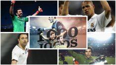 Casillas se une al club de los 1000 aunque todavía no pertenece al 'top 10'. (Porto, Getty Images, AFP)