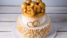 Aprende cómo celebrar las bodas de oro con éxito