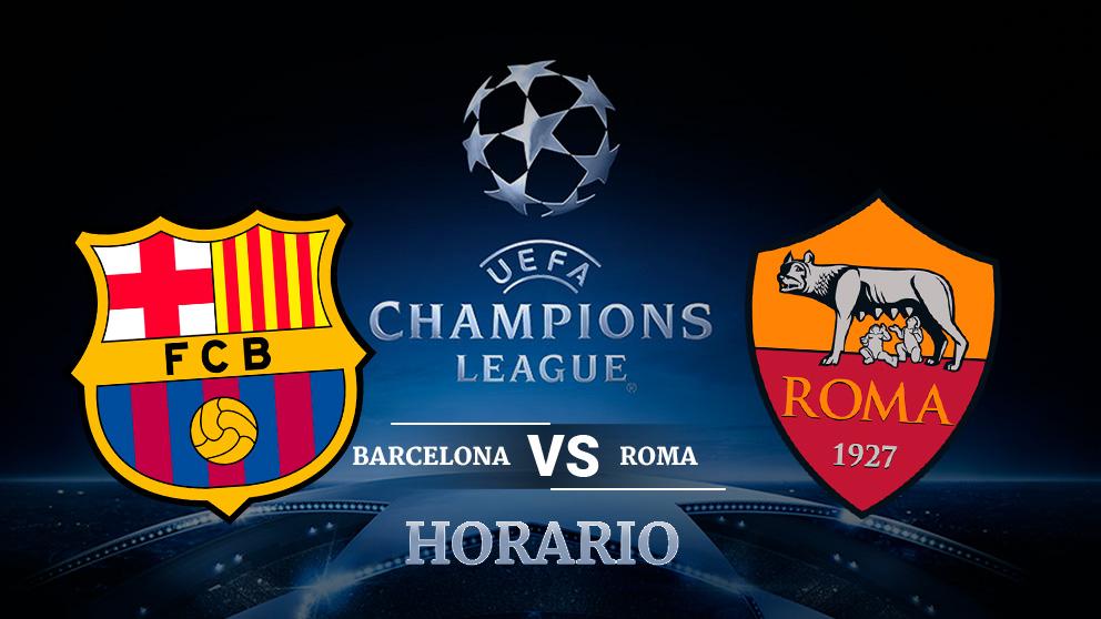 Barcelona roma horario y d nde ver por televisi n for A que hora juega el barcelona hoy