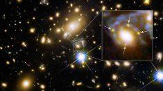 Una estrella localizada por el Telescopio Espacial Hubble