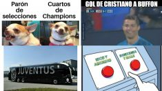 Los mejores memes del Juventus – Real Madrid.