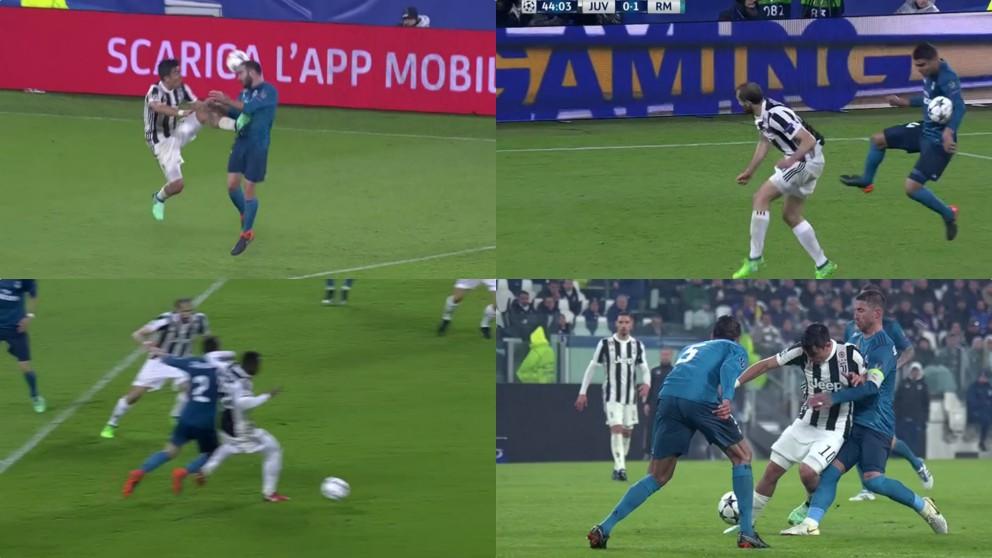Todas las polémicas del Juventus – Real Madrid.