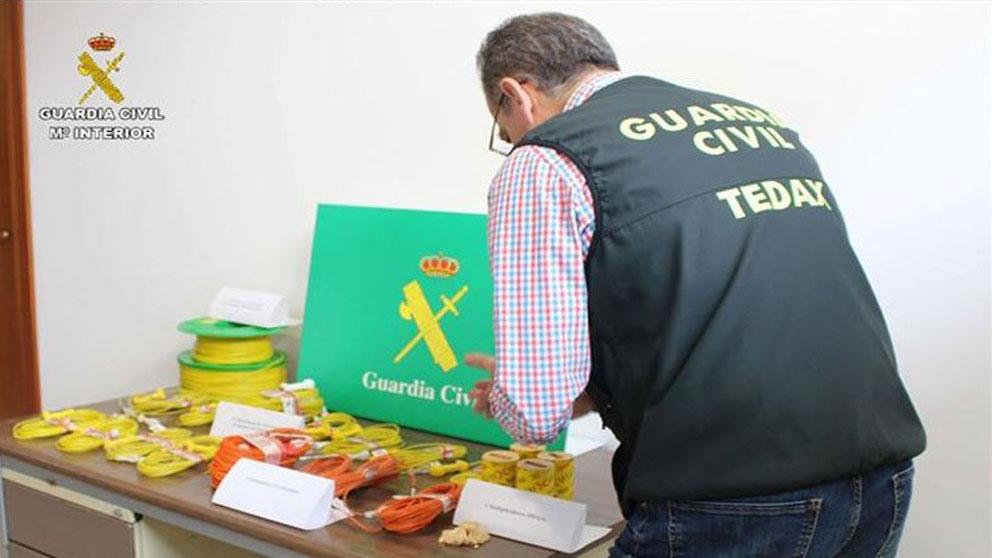 Explosivos robados en Río Tinto.