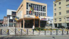 Fachada del Ayuntamiento de Santa Coloma de Farners (Gerona)