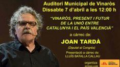 Cartel del acto de ERC en Vinaroz por los 'Países Catalanes'