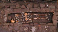 Restos de la mujer medieval con 1.300 años de antigüedad
