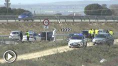 La Guardia Civil ha hallado Encuentran sangre de la víctima en el coche del presunto homicida de la A-5