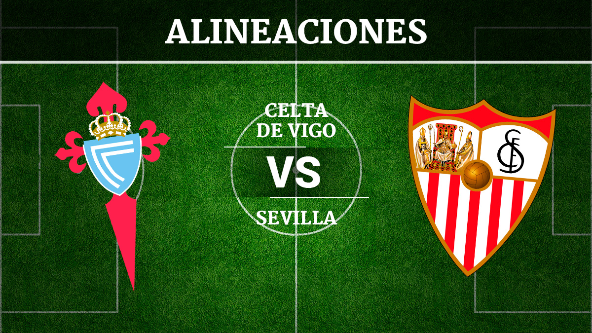 Consulta las posibles alineaciones del Celta de Vigo vs Sevilla