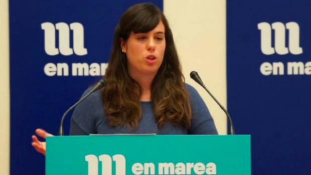 Paula Quinteiro, diputada de Podemos Galicia en la coalición de izquierda independentista En Marea