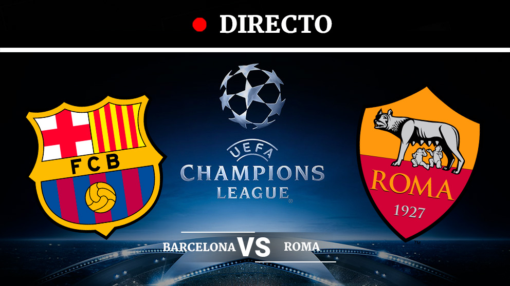 Image Result For Vivo Roma Vs Barcelona En Vivo Champions