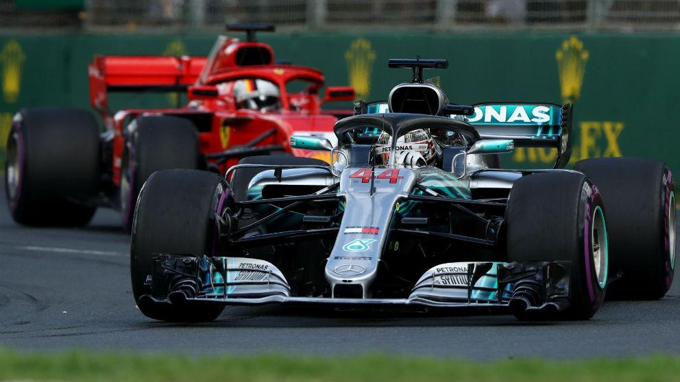 El Gran Premio de Bahrein de Fórmula 1 será la segunda prueba de un campeonato en el que los pilotos de Mercedes parten como los máximos favoritos, con Vettel al acecho. (Getty)