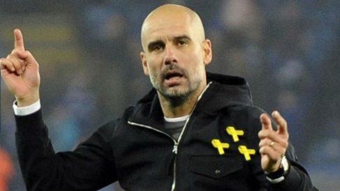 Guardiola, tras caer eliminado de la Champions ante el Liverpool. (Getty)