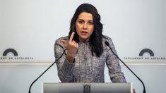 Inés Arrimadas, líder de Ciudadanos en Cataluña. (Foto: EFE)