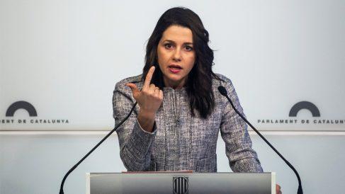 Inés Arrimadas, líder de Ciudadanos en Cataluña. (Foto: EFE) | Última hora Puigdemont