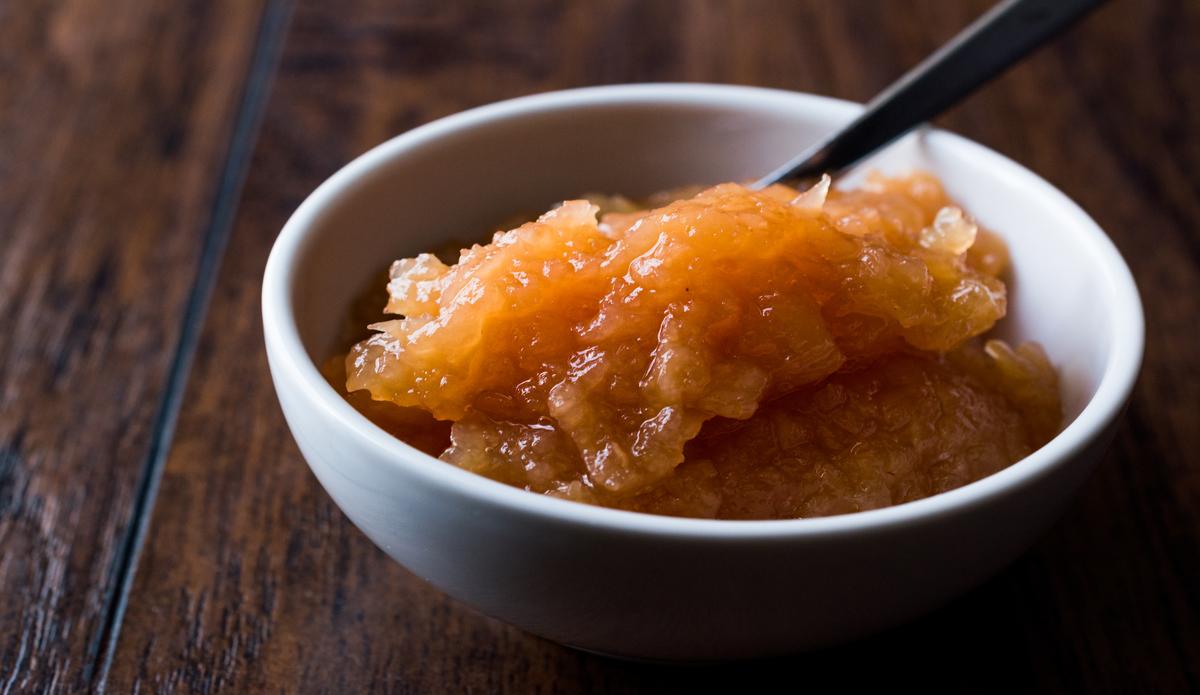 Receta de membrillo de manzana muy fácil de preparar
