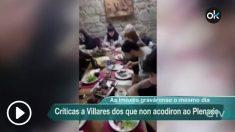 Vídeo de la comida con la diputada destrozacoches en el que se insulta al portavoz de En Marea