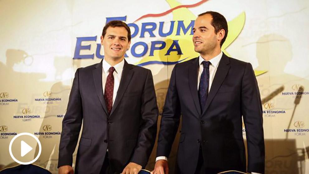 Albert Rivera e Ignacio Aguado. (Foto: Flickr)