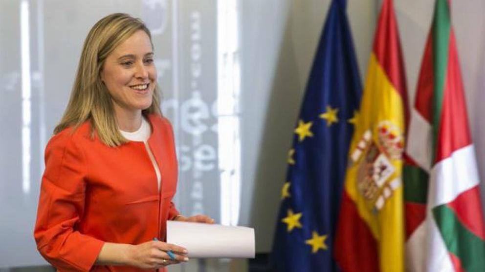Amaya Fernández, secretaria general del PP vasco.