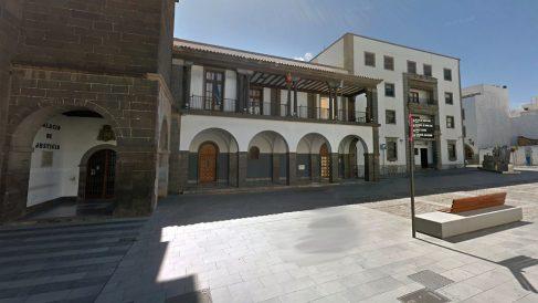 Fachada de la Audiencia Provincial de Las Palmas.