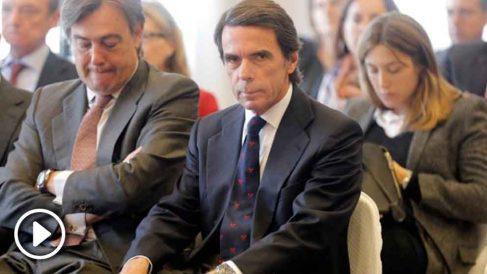 José María Aznar, expresidente del Gobierno. (Foto: EFE)