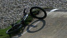 Imagen de archivo de una bicicleta tras un accidente. (Getty)