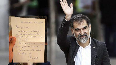Jordi Cuixart, presidente de Òmnium Cultural, y su carta a Valtonyc desde la cárcel.