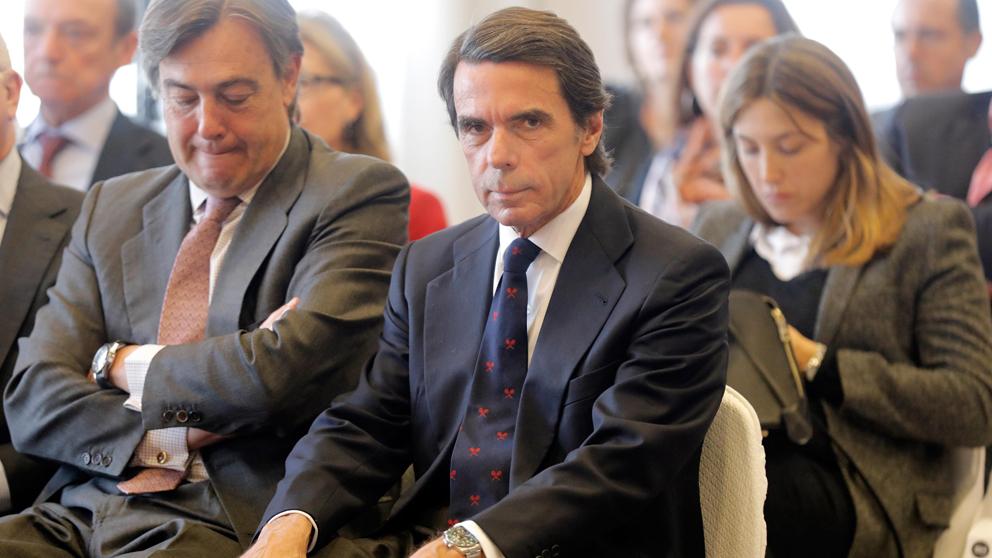 José María Aznar, ex presidente del Gobierno. (Foto: EFE)