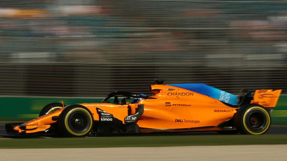 El McLaren MCL33 de Fernando Alonso recibirá una serie de importantes mejoras en el Gran Premio de China, tercera prueba puntuable del mundial de Fórmula 1. (Getty)