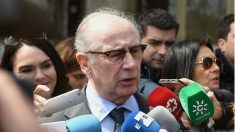 El ex vicepresidente del Gobierno Rodrigo Rato, ante los juzgados. (EFE)
