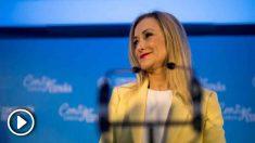 Cristina Cifuentes, este viernes, en Sevilla.