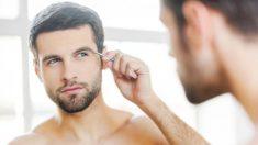 Aprende de qué modo depilarte las cejas si eres un hombre.