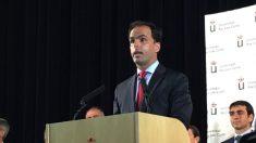 Javier Ramos, rector de la URJC. (Foto. OKDIARIO)