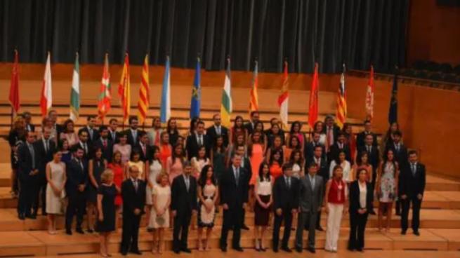 Entrega de despachos a los nuevos jueces en Barcelona