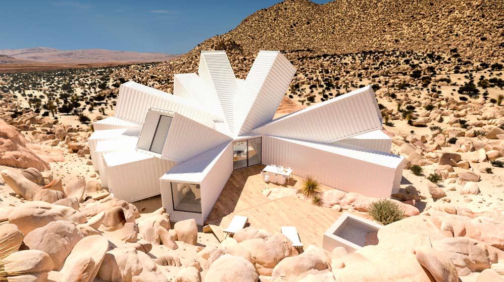 Una casa muy peculiar (Joshua Tree images)